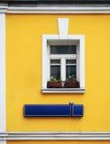I stary miasta okno Zdjęcie Stock