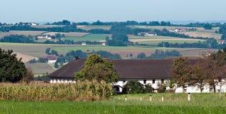 By i Steyr land. Österrike Royaltyfria Bilder
