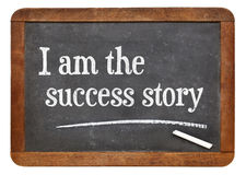 I am the success story Royalty Free Stock Photography