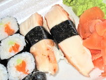 I sushi appetitosi tolgono Immagini Stock Libere da Diritti