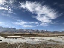 qinghai lake in china royalty free stock photography