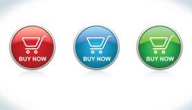 I tasti comprano (aggiunga al carrello) Illustrazione Vettoriale