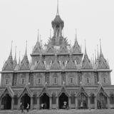 I tempel Arkivfoton