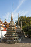 I templet i Bangkok Arkivbilder