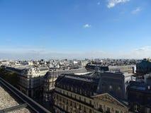 I tetti dello iin Francia di Parigi Fotografie Stock Libere da Diritti