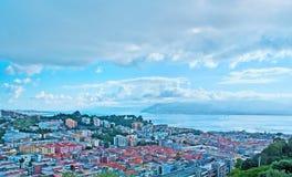 I tetti di Messina Fotografia Stock Libera da Diritti