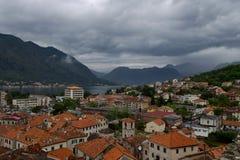 I tetti di terracotta di vecchia città Fotografia Stock Libera da Diritti