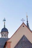 I tetti di vecchia città Fotografia Stock Libera da Diritti