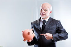 I think there are some saving to be done Stock Photo