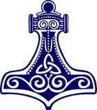 Martello di Thors - amulett di protezione Fotografia Stock Libera da Diritti