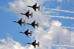 I Thunderbirds Immagini Stock