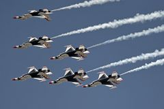 I Thunderbirds Fotografie Stock Libere da Diritti