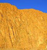 I todraen africa Marocko det torra berget för kartbok Royaltyfri Fotografi