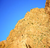 i todraen africa Marocko det torra berget för kartbok Royaltyfria Bilder
