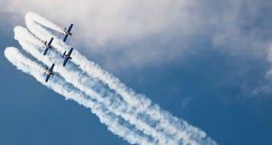 I tori di volo - Goraszka Airshow - Polonia Fotografie Stock Libere da Diritti