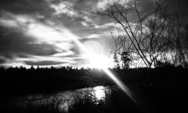 I tramonti dell'Oregon centrale Fotografia Stock