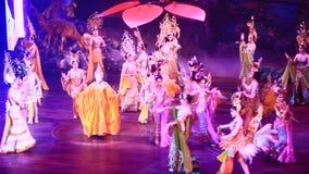 I transsessuali esegue il dancing alla manifestazione di alcazar archivi video
