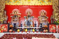 I tre dei di Taoism Fotografie Stock