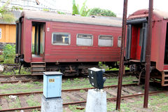 I treni Immagine Stock