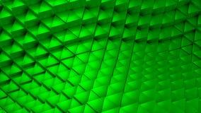 I triangoli hanno formato Wave video d archivio