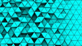 I triangoli hanno formato Wave stock footage