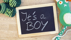 I'ts a boy Stock Image