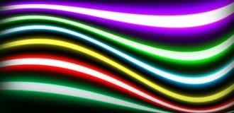 I tubi dell'accensione al neon hanno sigillato il vetro fotografia stock libera da diritti