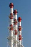 I tubi della centrale elettrica. Immagini Stock Libere da Diritti