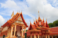 I tum di plu di tum di Wat kien Fotografia Stock