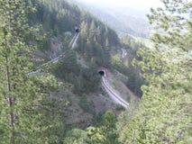 I tunnel ferroviari del ` di osmica di Sarganska del ` immagine stock
