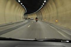 I tunneltunnelen Arkivbild