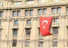 I turco diminuiscono sulla casa a Costantinopoli Fotografie Stock Libere da Diritti
