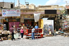 I turkisk marknad Arkivbild