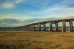 I-95 turnpike w Newark Fotografia Stock