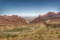 I70 Utah Lizenzfreie Stockfotos