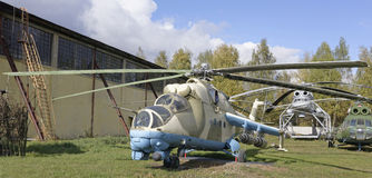 Мi-24V- Combat transport helicopter(1972) Stock Photography