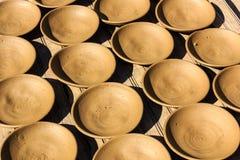 I vasi ceramici, collegare, il fuoco e la terra passano il vaso Fotografie Stock