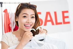 I�ve chosen clothes royalty free stock image