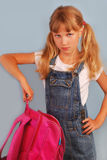I`ve got enough school ! Stock Image