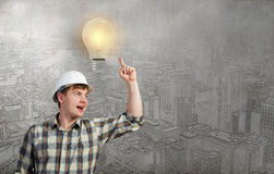 I've got an idea! Royalty Free Stock Photo