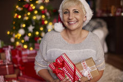 I've got a lot of presents Stock Images