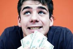 I've got money.  Royalty Free Stock Photo
