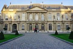 I vecchi archivi Nationales (archivi nazionali) della Francia a Parigi Fotografie Stock