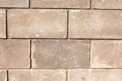 I vecchi mura di mattoni miseri per i precedenti Fotografia Stock Libera da Diritti