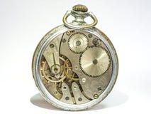 I vecchi orologi analogici sembrano insoliti fotografie stock libere da diritti