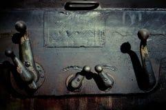 I vecchi pezzi meccanici Fotografie Stock
