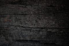 I vecchi precedenti di legno scuri di struttura con i modelli naturali immagini stock
