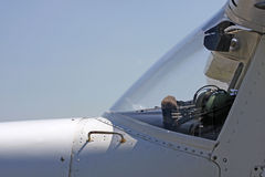 I velivoli chiari di Cessna si chiudono in su Immagini Stock Libere da Diritti