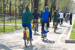 I'Velo Bike Day Stock Photo