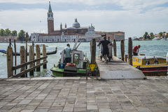 I Venedig Arkivbilder